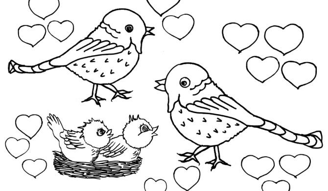 Spiksplinternieuw Vogels Archives - Kleurplaten DierenKleurplaten Dieren LH-23