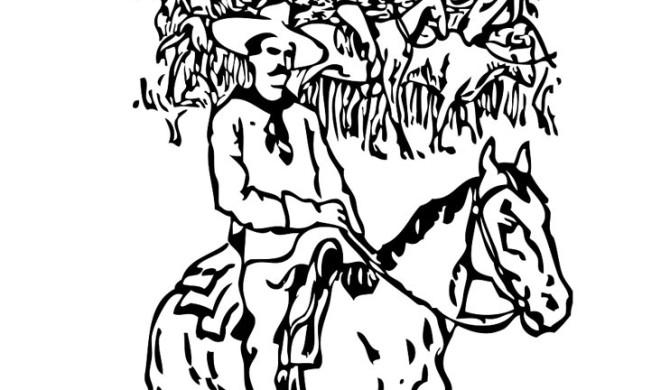 Kleurplaat Cowboy En Paard Idee 235 N Over Kleurpagina S